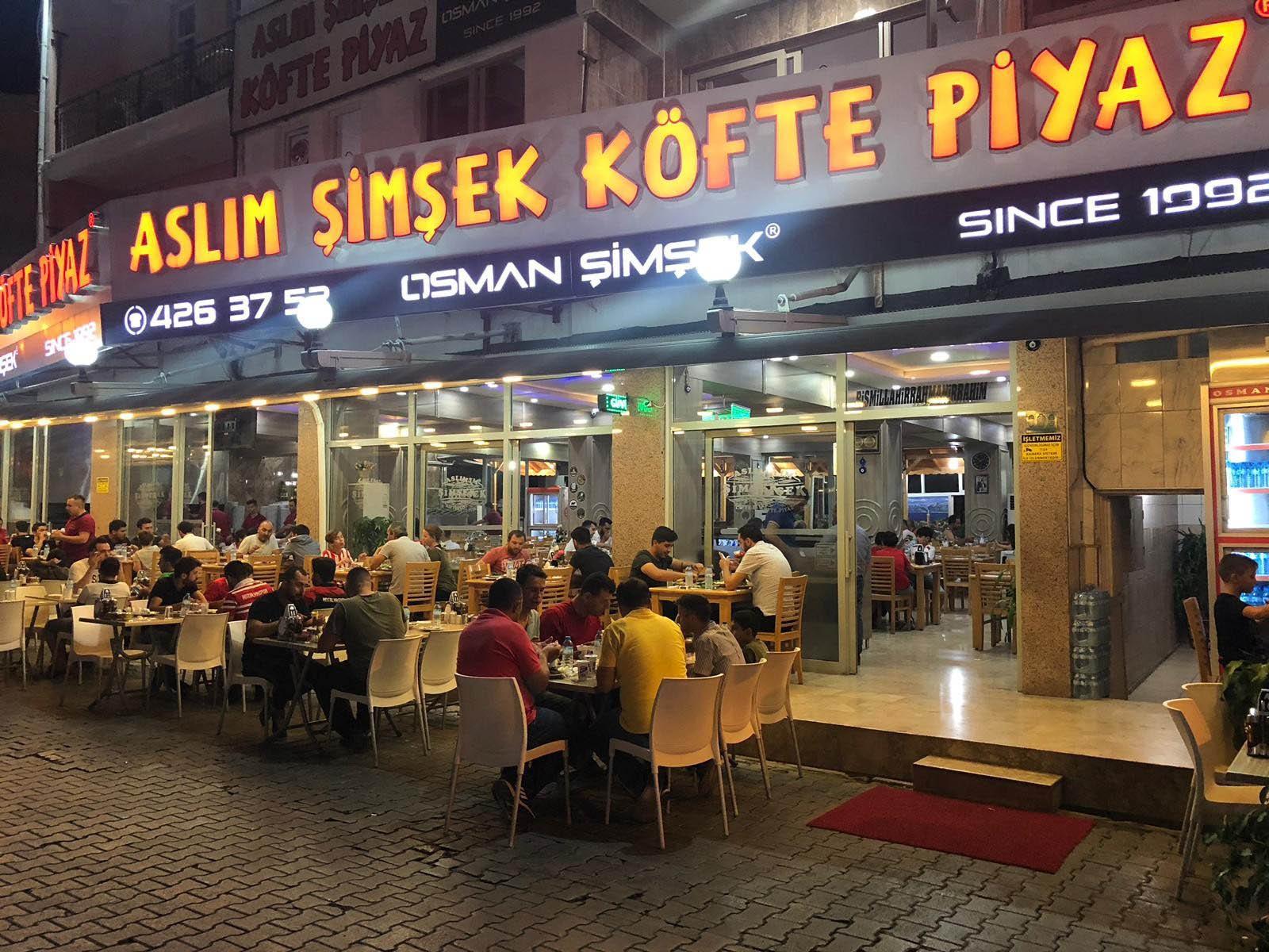 Aslım Şimşek Köfte Piyaz restaurantı