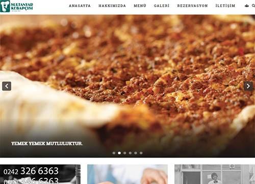 sultanyar kebapçısı web sitesi